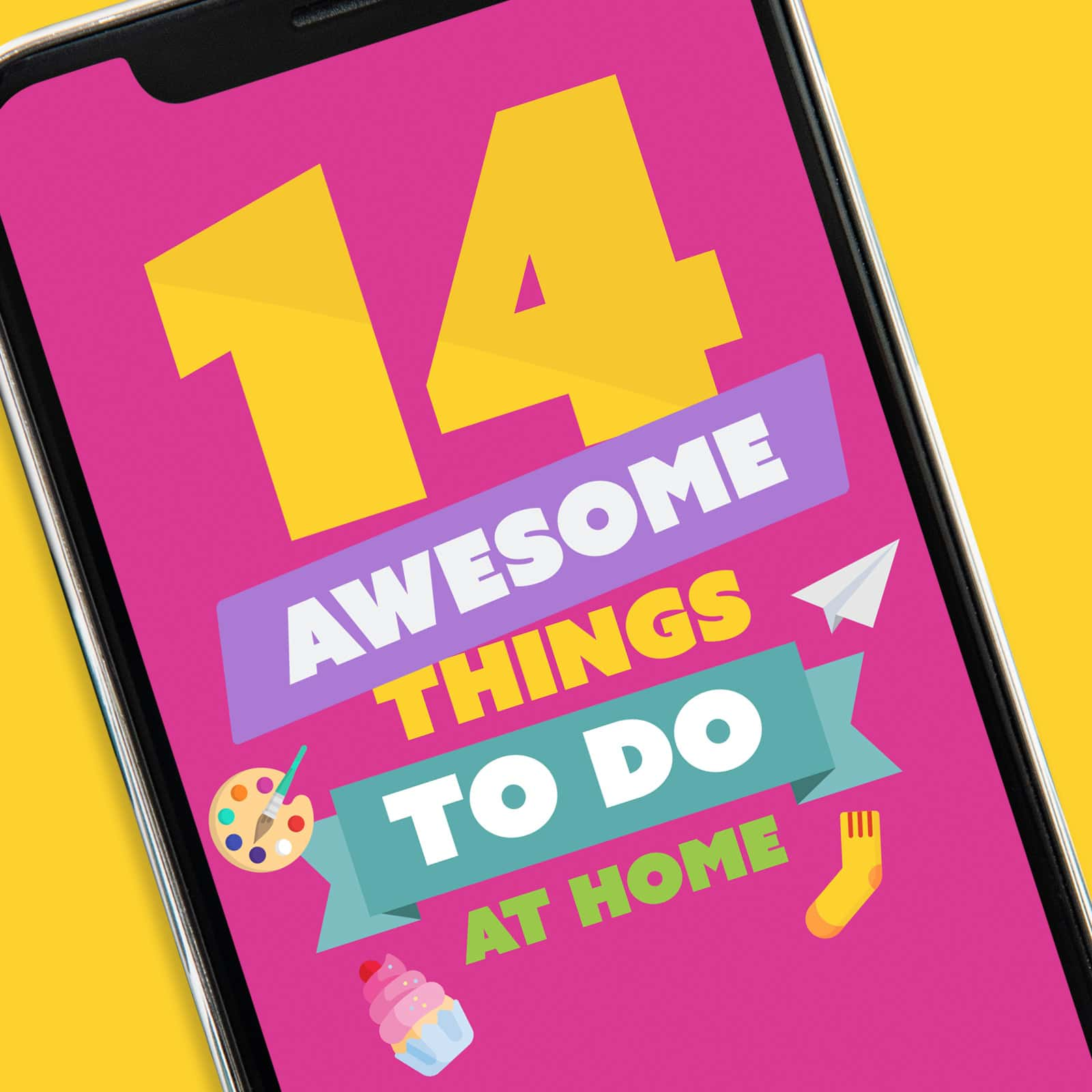 Screenshot of 14 Awesome Things To Do At Home App