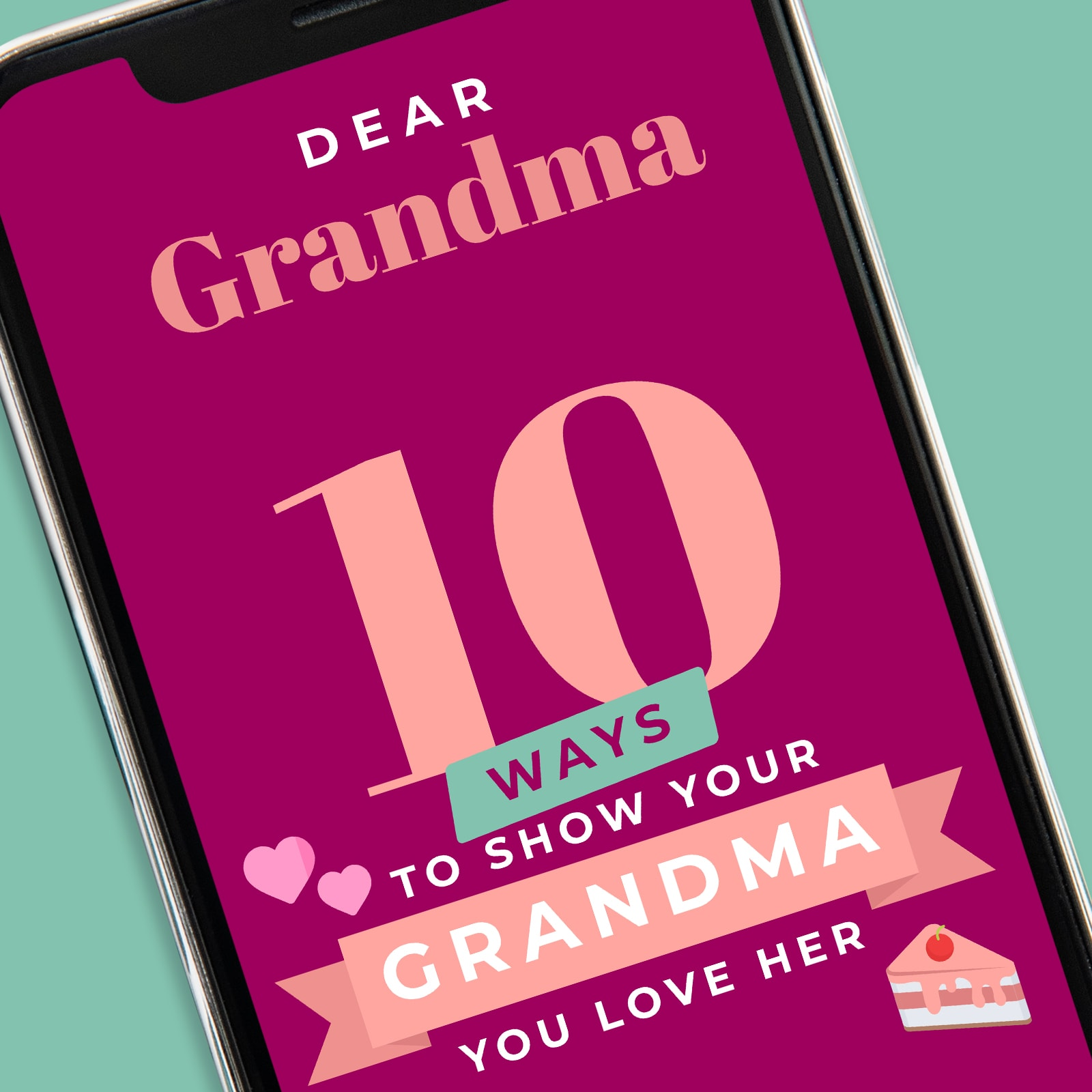 Screenshot of Dear Grandma App