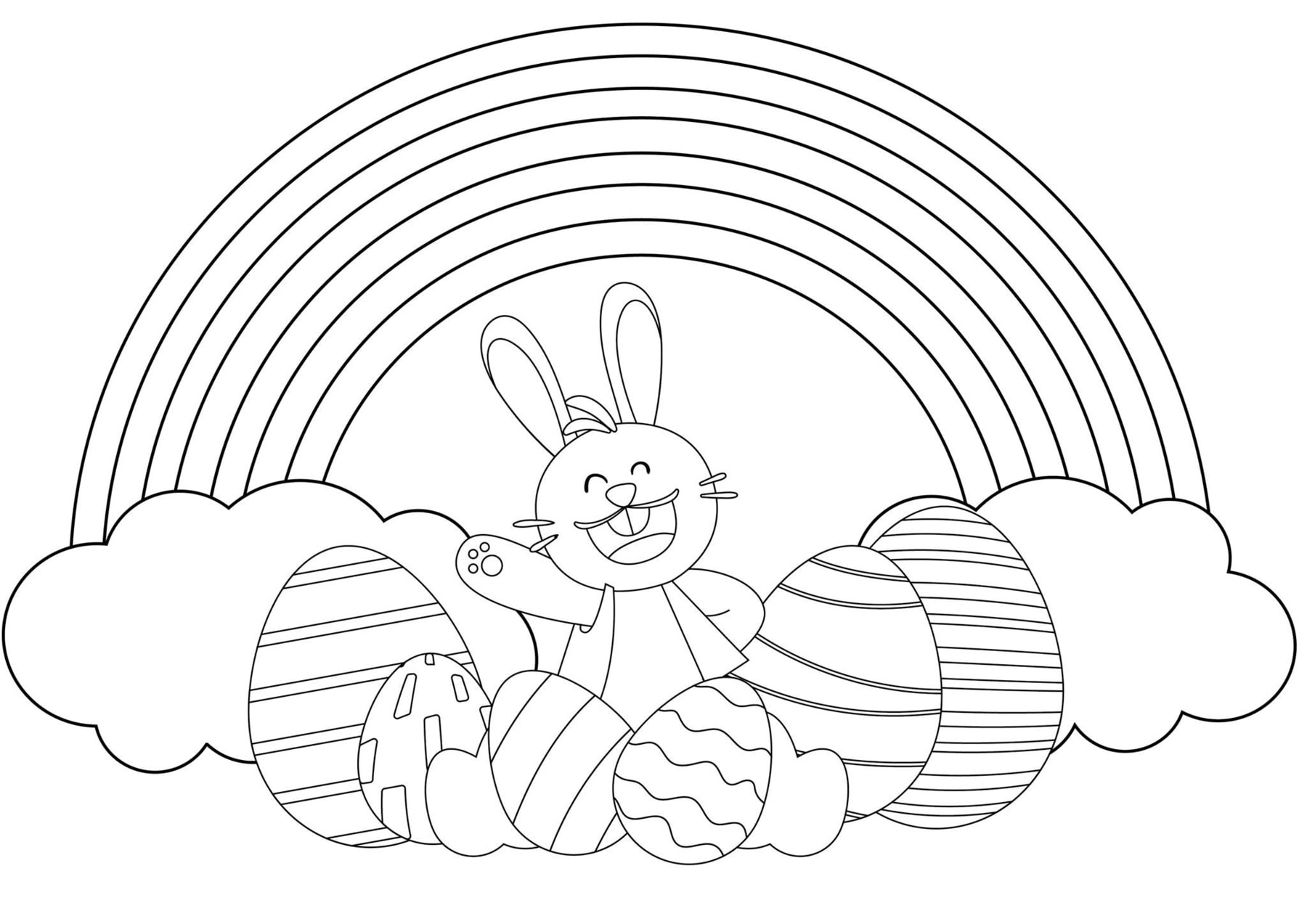 Easter Colouring Pack