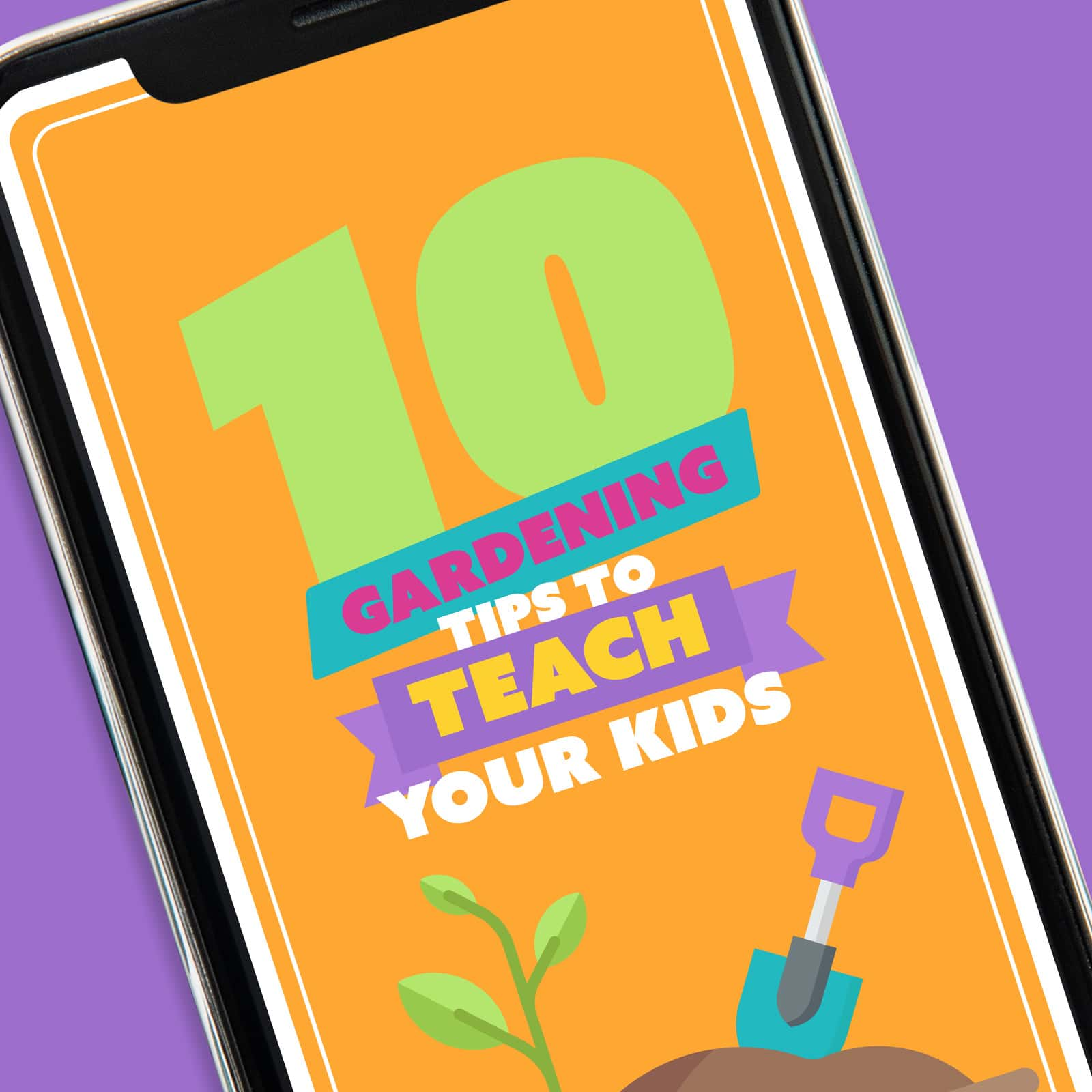 Screenshot of 10 Gardening Tips To Teach Your Kids App