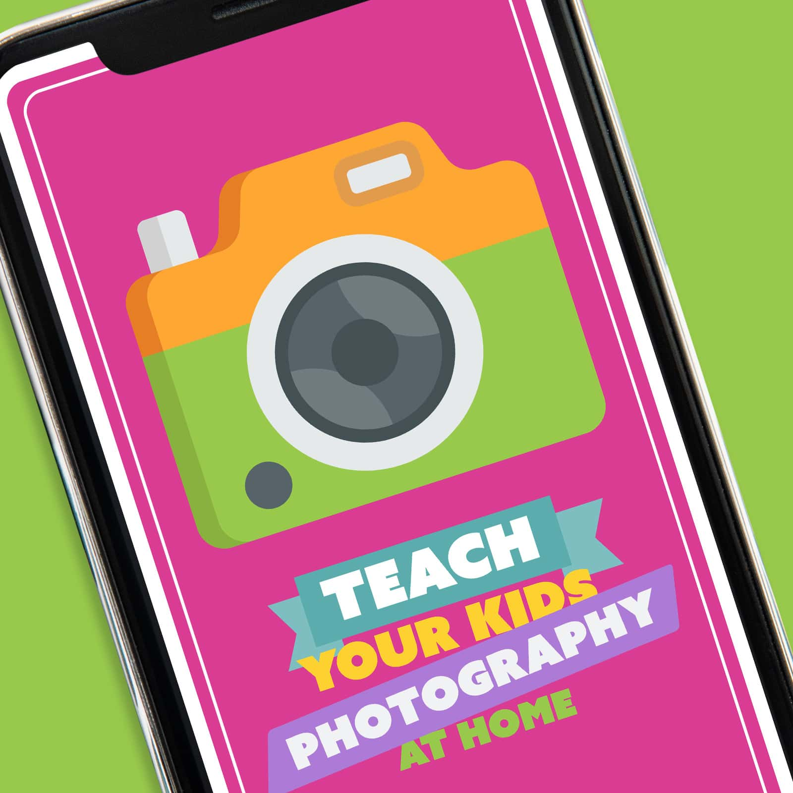 Screenshot of Teach Your Kids Photography App